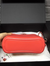 NWT AUTH Chanel 2019 Red Quilted Calfskin Small Gabrielle Hobo Bag GHW image 3