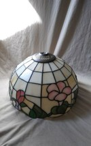 """Vintage Tiffany Style Stained Glass Floral Lamp Shade 10"""" - $49.99"""