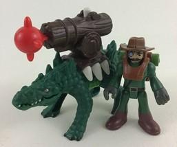 Imaginext Saharicus Alligator Crocodile Launcher Shooter Figure Toy Fish... - $14.80