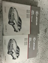 1999 Lexus SC400 SC300 Service Shop Repair Workshop Manual Set OEM Worn - $128.65