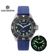 San Martin 2019 Mens Diver Watch Stainless Steel Automatic Mechanical Wa... - $369.87