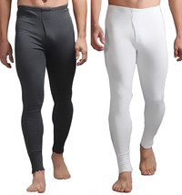 Heat Holders - Mens Winter Warm Cotton Thermal Underwear Long Johns Pant... - $23.04