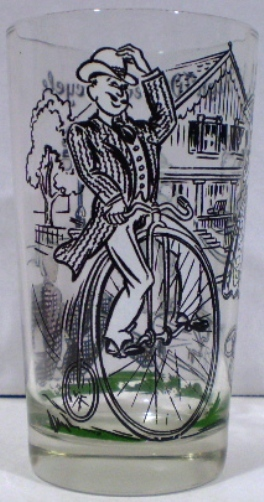 Primary image for Armour Peanut Butter Glass The High Wheel Bicycle