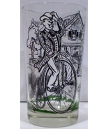 Armour Peanut Butter Glass The High Wheel Bicycle - $10.00