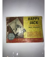 Armed Services Edition 1936 Happy Jack Western Novel by Max Brand - $28.04