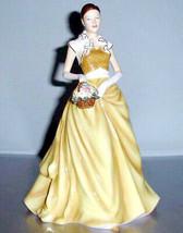 Royal Doulton Rachel Pretty Ladies Yellow Gown Collectible Figurine HN55... - $314.90