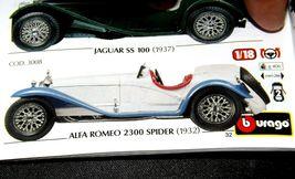 Alfa Romeo 2300 Spider 1932 Model Car 1/18 ScaleAA19-1560 Vintage 2001 Burago image 7