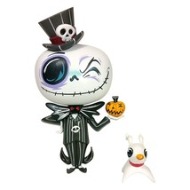 The Nightmare Before Christmas Jack Miss Mindy Vinyl Figure with Mini Ze... - $29.02