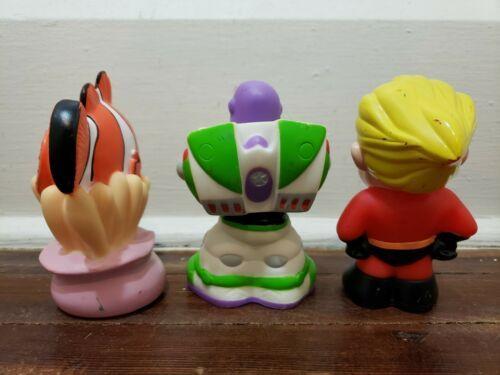 Disney Parks Pixar Bath Pool Toys Set, Dash - Buzz Lightyear - Nemo image 2