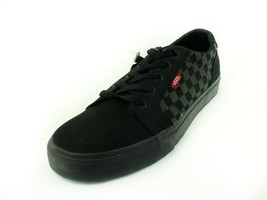 Vans Winston Men's Black Checkerboard Canvas Skate Shoes  - $38.99