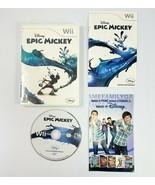 Disney Epic Mickey - Complete! (Nintendo Wii, 2010) - $6.79