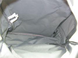 Marc Jacobs NWT $195 Shadow Grey Backpack Book Bag Medium Nylon Zip Around Logo image 5