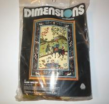 Dimensions Needlepoint new PERSIAN TAPESTRY #2089 NIP 1978 Timothy Glenn... - $48.00