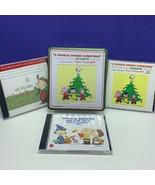 Charlie Brown Christmas Peanuts collectors Guaraldi soundtrack cd set 3 ... - $39.55