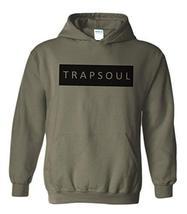 CC Bryson Tiller Trapsoul Hoodie Military Green (Black Print) - $29.99