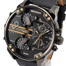 Diesel Diesel Mr Daddy 2.0 Leather Mens Watch DZ7348 - $157.11 CAD