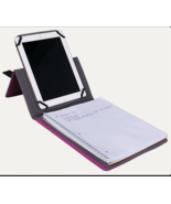 Mead Five Star IPad Tablet Stand and Notebook Case Berry Pink 11.75 x 9.... - $12.73
