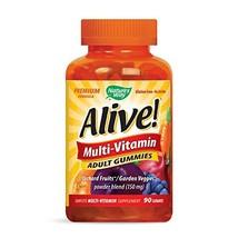 Nature's Way Alive!® Adult Premium Gummy Multivitamin, Fruit and Veggie Blend 15