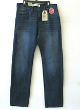 Levi's 511 NWT Big Boys Jeans Size 20 30x30 Vertical Stretch Slim Fit KD768 - $30.68