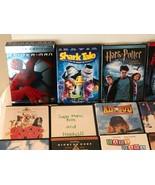 Lot of 31 DVDs Family Kids Teens Disney Pixar Marvel Scooby Doo Harry Po... - $24.99