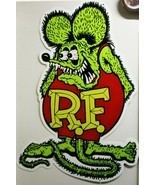 "Rat Fink Full Body Plasma Cut, Big Daddy Ed Roth Metal Sign 62"" by 42"" - $595.00"