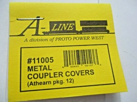 A-Line 11005 Metal Coupler Covers Replacement for Athearn Part # 90602 12 Pack  image 2