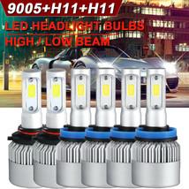 9005+H11+H11 LED Headlight Kit Hi/Lo+Fog Lights Compatible for Honda Accord 2013 - $60.99