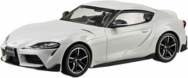 Aoshima 1/32 The Snap Kit Series TOYOTA GR SUPRA White Metallic Plastic ... - $46.75