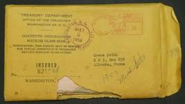 1957 P D Double Mint Set Original Packaging Envelope - $424.71