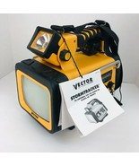 Vector VEC135 Storm Tracker TV AM FM Weather Alert Radio Lantern Emergen... - $46.52