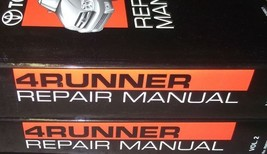 2003 Toyota 4RUNNER 4 Runner Service Repair Shop Manual Set Factory Oem New Nice - $361.35