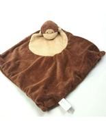 Angel Dear Monkey Security Blanket Lovey Stuffed Brown 11X12 #A27 - $5.45
