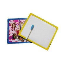 Single Side Erasable Brush Drawing Whiteboard Reminder White Board w/Bla... - $2.54