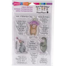 Stampendous Perfectly Clear Stamps -Friend Wishes - $17.99