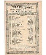 Sheet Music - Homing ~ Arthur Salmon ~ Teresa Del Riego ~ 1925 ~ SABT - $7.87