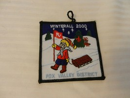 Winterall 2000 Fox Valley District Three Fires Council Pocket Patch Boy Scouts - $14.84