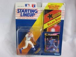 1992 Kenner Starting Lineup Nolan Ryan - Texas Rangers Action Figure Car... - $9.89