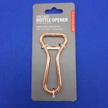 Kikkerland BO17-C Vintage Style Copper Bottle Opener Handheld Stainless ... - $14.84