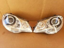 07-11 Volkswagen EOS HID Xenon Afs Headlight Head Lights Lamps Set L&R - $512.98