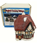 Wee Crafts Olde English Bakery Country Village Painted Finished Lighted - $49.49
