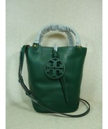 NWT Tory Burch Malachite Green Miller Bucket Tote - $420.03