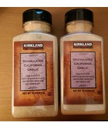Kirkland Signature Granulated California Garlic 18 oz Fresh Stock - $16.26+