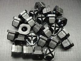 25 pcs headlight door bezel grille black nylon nuts clips Pontiac Chevy 3893980 - $8.10