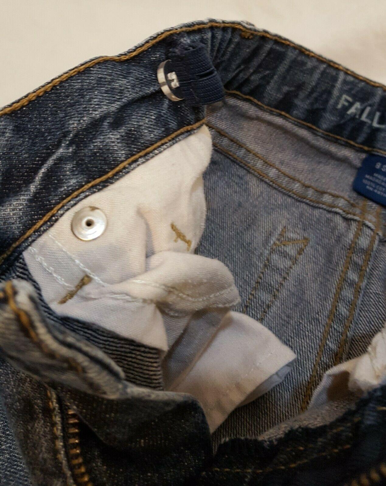 Blue Jeans Denim Boys Size 8 Slim Straight Falls Creek image 7