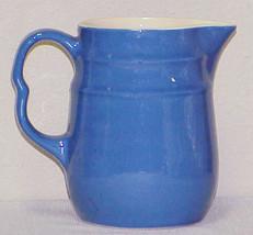 "Vintage 6"" Blue Pitcher - Oxford Stoneware - $12.99"