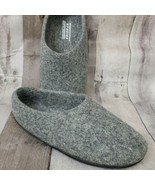 Kyrgies Classic High Back Artisan Wool Slippers Sz 43 Gray Felted House ... - $33.64