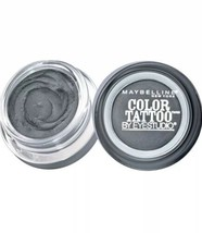 Maybelline Eye Studio Color Tattoo 24hr Eyeshadow #15 Audacious Asphalt ... - $5.94