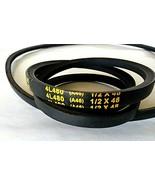 """V-Belt 4L480 - 48"""" - 2 pack - $17.82"""