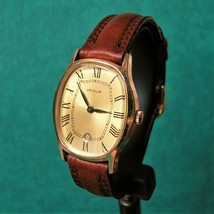 VADUR Gold Plated Vintage 1970s Cupillard 233-72-E Watch Reloj Montre Uh... - $73.55 CAD