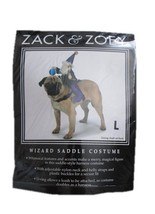 New! Halloween Costume for Dogs, Zack & Zoey Wizard Saddle Large, Free U... - $7.60